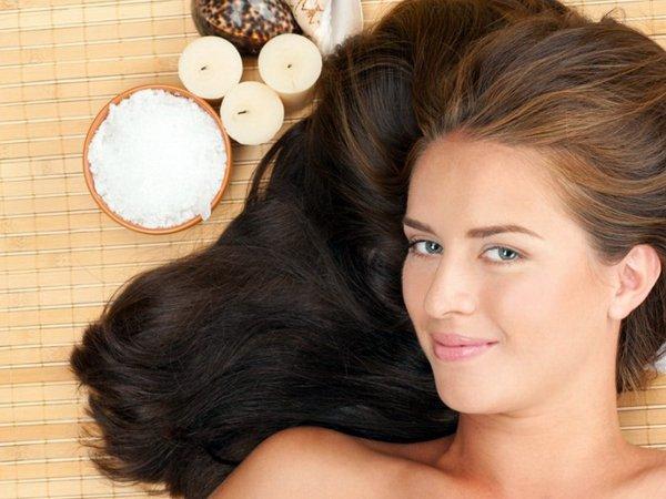 Соль для волос от выпадения и роста